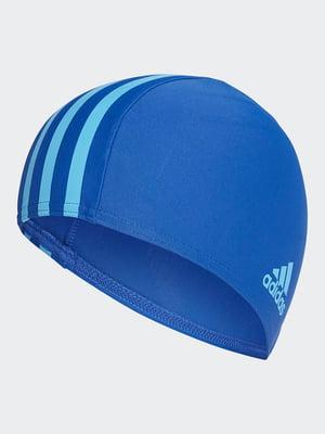 Шапочка для плавания синяя   4569116