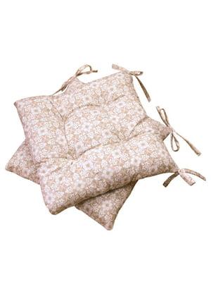 Подушка на стілець (40х40 см) | 4855938