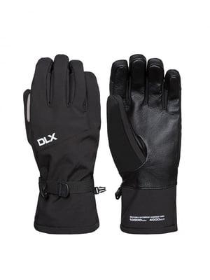 Перчатки черные горнолыжные | 4630236