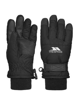 Перчатки черные горнолыжные | 4630245