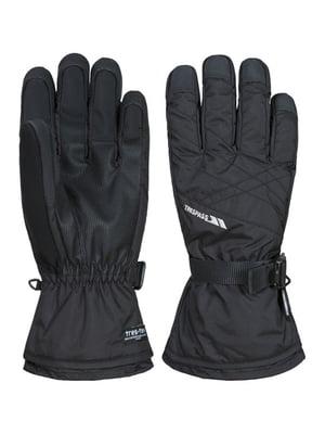 Перчатки черные горнолыжные | 4770516