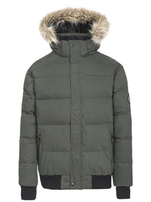 Куртка оливкового цвета | 4791815