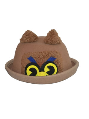 Шляпа кофейного цвета | 4856088