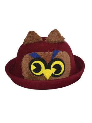Шляпа бордовая | 4856091