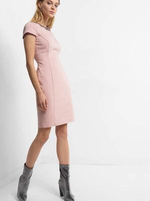 Платье цвета пудры | 4855976