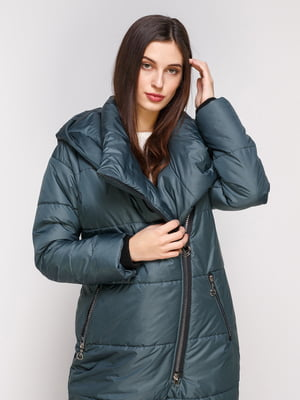 Пальто зеленое | 4705201