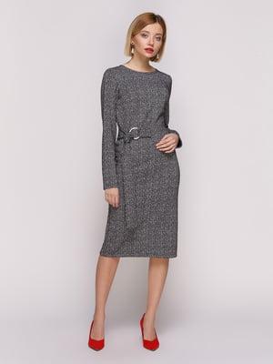 Сукня меланжевого забарвлення | 4854671