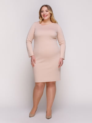 Платье нюдового цвета | 4817370