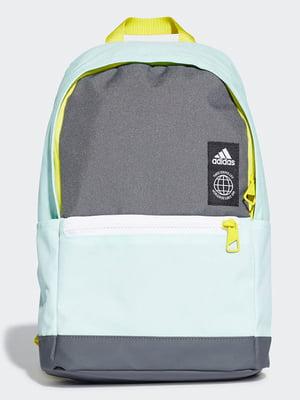 Рюкзак сіро-блакитний   4836424