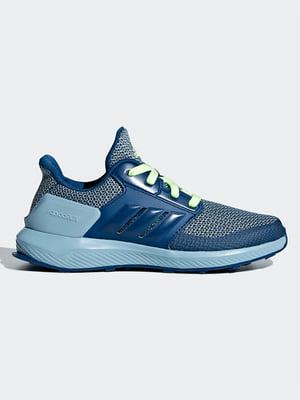 Кроссовки синие   4856764