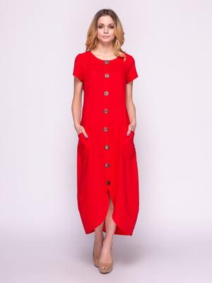 Платье красное | 4855847