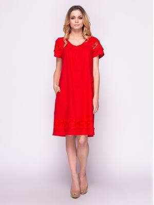 Платье красное | 4855832