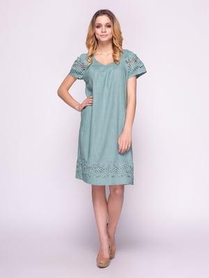 Сукня кольору полину | 4855833