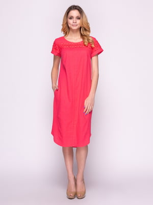 Сукня коралова | 4855818
