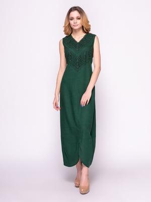 Платье зеленое | 4855827