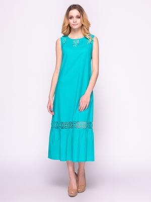 Сукня бірюзова | 4855856