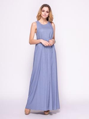 Платье синее | 4855848