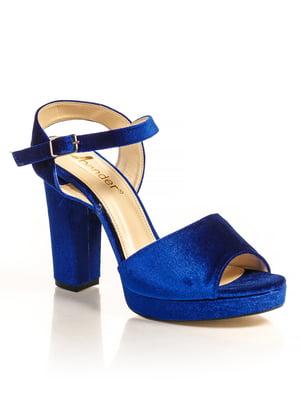 Босоніжки сині | 4715971