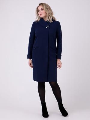 Пальто темно-синее | 4717950
