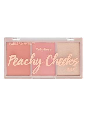 Палітра рум'ян Pinky Cheeks - №3 (9 г) | 4859174