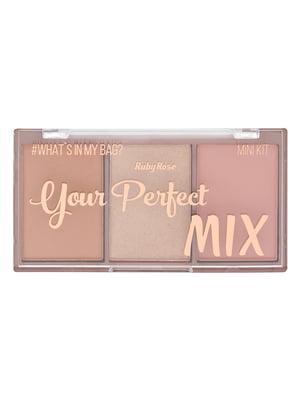Палітра рум'ян міні Your Perfect Mix - №2 (9 г) | 4859190