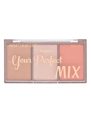 Палітра рум'ян міні Your Perfect Mix - №4 (9 г) | 4859192
