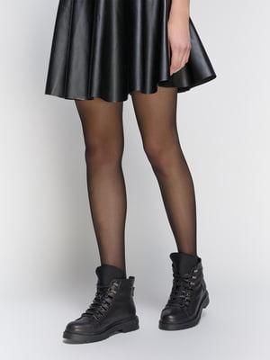 Ботинки черные | 4858022