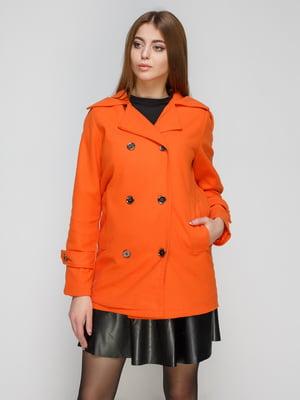 Пальто оранжевое | 3764932