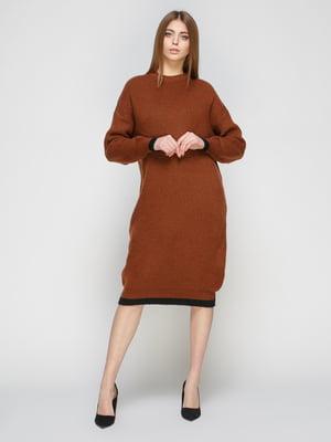Сукня цегляного кольору | 4718089
