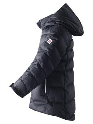 Куртка-пуховик чорна | 4856326