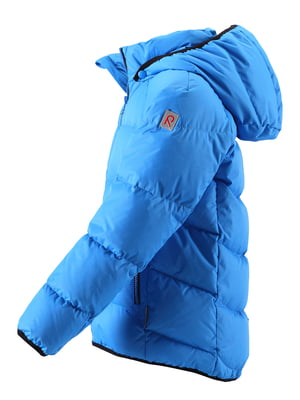 Куртка-пуховик синя | 4856631