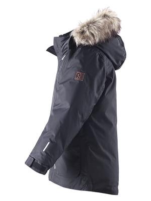 Куртка-пуховик чорна | 4856638