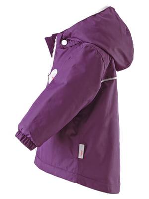 Куртка фіолетова | 4856673