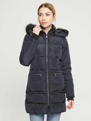 Пальто темно-синее | 4859467