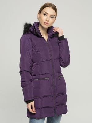 Пальто фиолетовое | 4859469