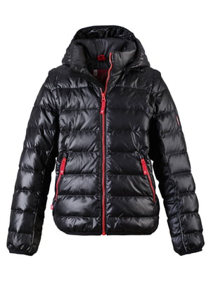 Куртка-жилет чорна | 4856431