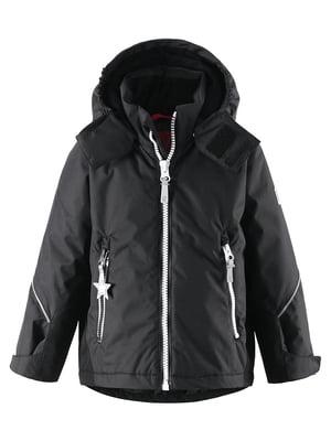 Куртка чорна | 4856546