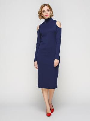 Сукня темно-синя | 3507152