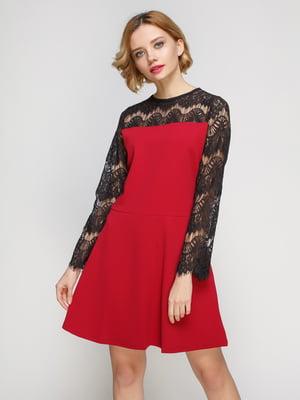 Сукня бордова | 3182309