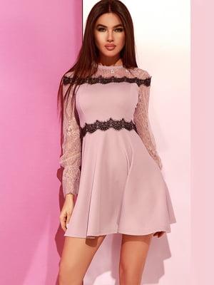 Сукня світло-лілового кольору | 4860197