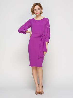 Платье сиреневое | 3182298