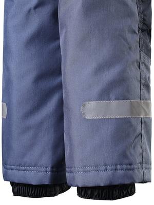 Напівкомбінезон синьо-сірого кольору | 4856402