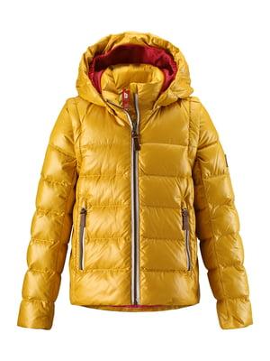 Куртка-жилет желтая | 4856457