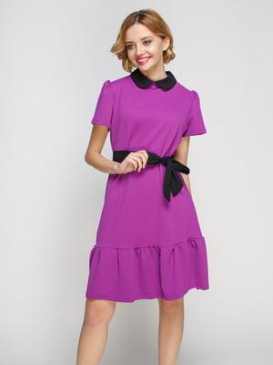 Платье сиреневое | 3182295