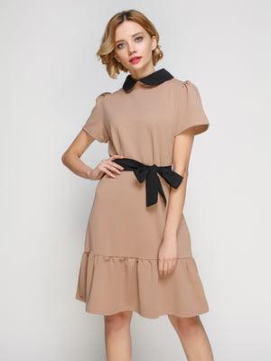 Платье бежевое - My Monday - 3182294