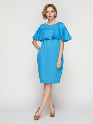Платье голубое | 2350980
