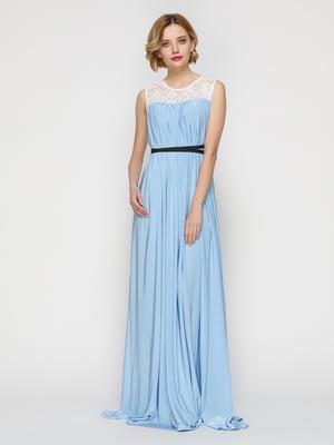 Платье голубое | 3182291