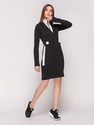 Сукня чорно-біла | 4859490