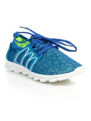 Кроссовки синие | 4859457