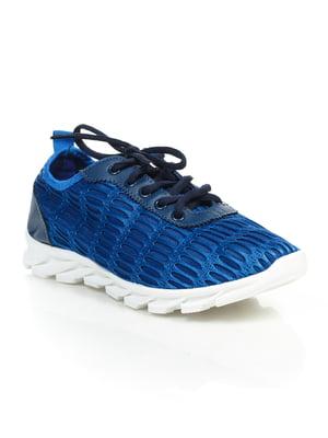 Кроссовки синие | 4859458